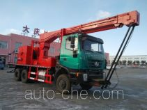 Qingquan JY5253TCYC20 well servicing rig (workover unit) truck
