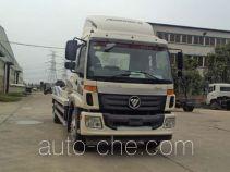 银盾牌JYC5160ZBGBJ2型背罐车