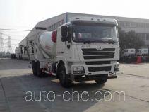 银盾牌JYC5250GJBSX12型混凝土搅拌运输车
