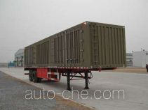 Yindun JYC9190XXY box body van trailer