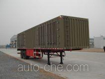 Yindun JYC9270XXY box body van trailer