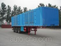 Yindun JYC9391XXY box body van trailer