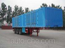 Yindun JYC9391XXY box body van trailer