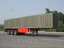 Yindun JYC9280XXY box body van trailer