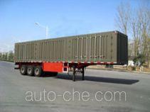 Yindun JYC9400XXY box body van trailer