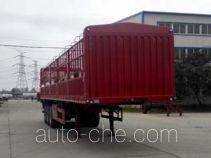 银盾牌JYC9409CCY型仓栅式运输半挂车