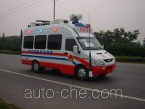 Shentan JYG5041XZH civil defence emergency command vehicle