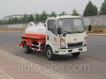 绿叶牌JYJ5067GXWD型吸污车