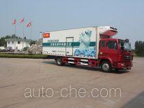 绿叶牌JYJ5165XLCE型冷藏车