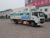 绿叶牌JYJ5167XLCD型冷藏车