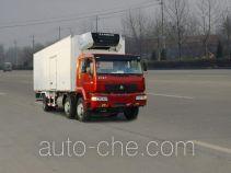 绿叶牌JYJ5201XLC型冷藏车