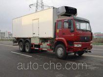 绿叶牌JYJ5251XLC型冷藏车