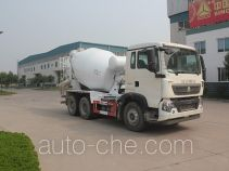 绿叶牌JYJ5257GJBE型混凝土搅拌运输车