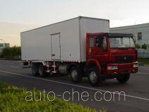 Luye JYJ5310XBW insulated box van truck