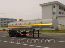 绿叶牌JYJ9330GHY型化工液体运输半挂车