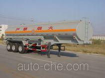 绿叶牌JYJ9350GHY型化工液体运输半挂车