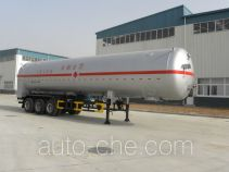 Luye JYJ9400GDY cryogenic liquid tank semi-trailer