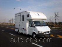 Jiazhuo JZC5040XYM horse transport van truck