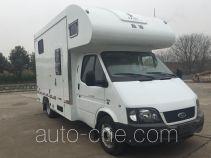 Jiazhuo JZC5041XYM horse transport van truck