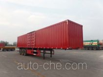 Zhongyuntong JZJ9400XXY box body van trailer