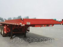 Zhongyuntong JZJ9400ZZXP flatbed dump trailer