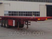 Zhongyuntong JZJ9405ZZXP flatbed dump trailer