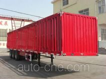 Qiao JZS9401XXY box body van trailer