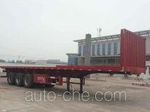 Qiao JZS9402ZZXP flatbed dump trailer
