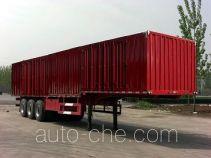 Qiao JZS9403XXY box body van trailer