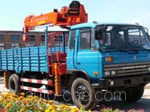 Jinzhong JZX5140JSQ6.3D truck mounted loader crane
