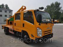Xinyi JZZ5060TQX guardrail and fence repair truck