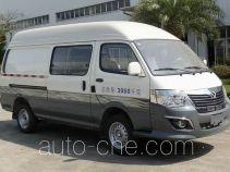 Jinli KCL5030XXY box van truck