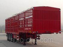 凯迪捷牌KDJ9400CCYE型仓栅式运输半挂车