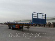 蒙驼凯力达一牌KLD9406TPB型平板运输半挂车