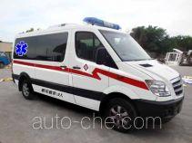 Higer KLQ5040XJHE4 автомобиль скорой медицинской помощи