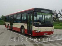 海格牌KLQ6129GAHEVC5D型混合动力城市客车