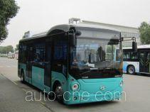 海格牌KLQ6762GEVW型纯电动城市客车