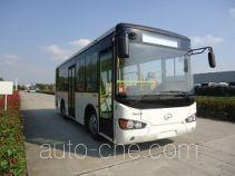 海格牌KLQ6825GAHEVE5E型混合动力城市客车
