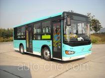 海格牌KLQ6850GAHEVE5E型混合动力城市客车