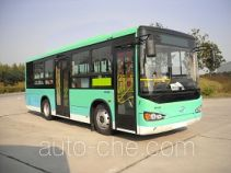 海格牌KLQ6935GAHEVE4D型混合动力城市客车
