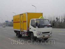 Tianzai KLT5061XQY explosives transport truck