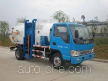 天载牌KLT5070ZCY型侧装压缩式垃圾车