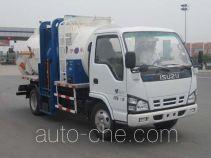 天载牌KLT5071ZCY型侧装压缩式垃圾车