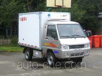 凯马牌KMC5020XLCEVA21D型纯电动冷藏车