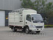 凯马牌KMC5041CCYEV28D型纯电动仓栅式运输车