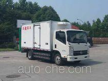 凯马牌KMC5042XLCEVA33D型纯电动冷藏车