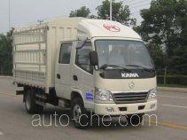 Kama KMC5072CCY33S4 грузовик с решетчатым тент-каркасом