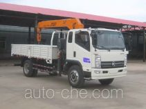 凯马牌KMC5102JSQA42P5型随车起重运输车