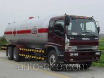Jiuyuan KP5250GYQ liquefied gas tank truck