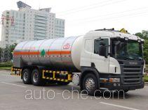 Jiuyuan KP5260GYU carbon dioxide transport tank truck